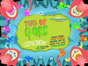 Tug of Gore - multiplayer iPad Game