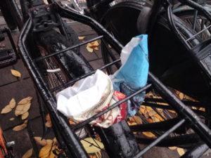zadeldekje zadelhoesje saddle cover afval