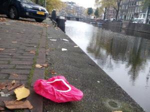 zadeldekje zadelhoesje afval