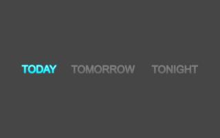 ToToTo Method - Today Tomorrow Tonight